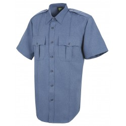 Horace Small - HS1231 SS 16 - Sentry Shirt, SS, Blue, Neck 16 In.