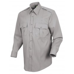 Horace Small - HS1113 15 34 - New Dimension Stretch Dress Shirt, M, Gray