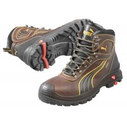 Puma - 630225 09 - 6H Men's Boots, Composite Toe Type, Brown, Size 9EE