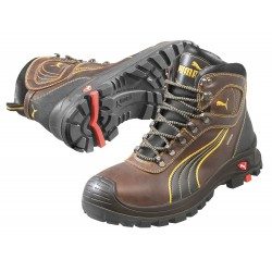 Puma - 630225 13 - 6H Men's Boots, Composite Toe Type, Brown, Size 13EE