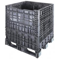 Buckhorn / Myers Industries - BS3230252010000 - Collapsible Bulk Container, Black, 25H x 32L x 30W, 1EA