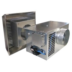 Tjernlund Products - PAI-4 - 120V Combustion Air Intake System, 250 CFM, Includes: Intake Hood