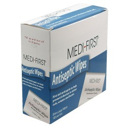 Medique - 21433 - Antiseptic Wipes, Wipes, Box, Wrapped Packets