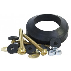 Kissler - 68-7055 - Brass and Rubber Tank to Bowl Kit, For Use With Mansfield