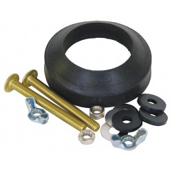 Kissler - 68-7582 - Brass and Rubber Tank to Bowl Kit, For Use With Gerber