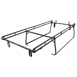 Knaack - 1280 - Ladder Rack, Black, Steel, 150-1/2 In