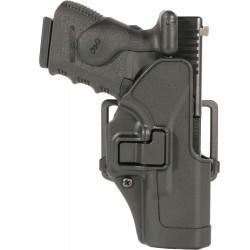 Blackhawk - 410500BK-R - Serpa CQC Holster, RH, Glock 17/22/31