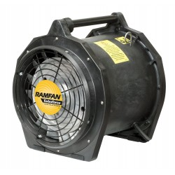 Euramco Safety - EFI75XX - Conf.Sp. Fan, Ax. Ex-Prf, 12 In, 3/4HP, 115V