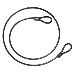 ABUS - 10/1000 NON-COILED CABLE - Non-Coiled Security Cable, 3/8 In.