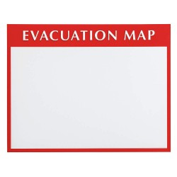 Brady - 102849 - Evacuation Map Holder, 13-1/2H