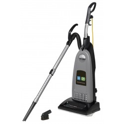 Tennant - 1068027 - 1 gal. Capacity Bagged Upright Vacuum with 14 Cleaning Path, 120 cfm, HEPA Filter Type, 10 Amps