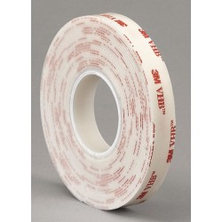 3M - 4952 - 3M 67792 VHB Tape 4952 White, 3/4 in x 36 yd 45.0 mil, 12 per case