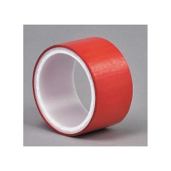3M - 850 - Red Polyester Metalized Film Tape, 1/2 Width, 5 yd. Length, 1.90 mil Thickness