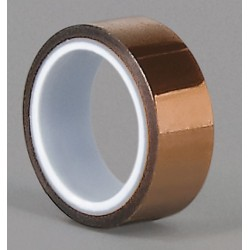 Tapecase - 15C550 - Amber Polyimide Film Tape, 1/4 Width, 5 yd. Length, 2.60 mil Thickness