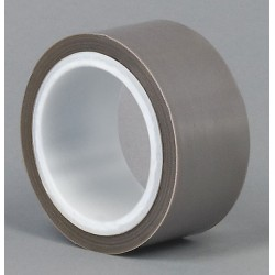 Tapecase - 15C662 - Gray PTFE PTFE Film Tape, 1-1/2 Width, 5 yd. Length, 6.50 mil Thickness
