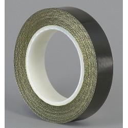 Tapecase - 15C813 - 4 x 18 yd. Slick-Surface Tape, Black