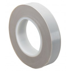 Tapecase - 15D619 - Tan PTFE PTFE Film Tape, 6 Width, 36 yd. Length, 11.50 mil Thickness