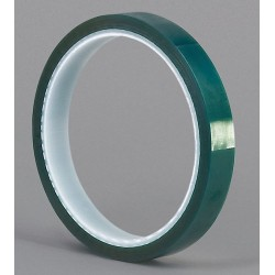 Tapecase - M SERIES - Masking Tape, 18 yd. x 1/4, Dark Green, 3.30 mil