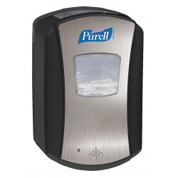 Purell - 1328-04 - Sanitizer Dispenser, 700mL, Black