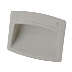 Elesa - EPR.120-PF-CLEAN - Recessed Pull Handle, Snap-In, Polyamide