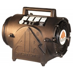 Air Systems - CVF-8EXP - Air Systems 8 974 cfm 1/4 hp 115 Vac 60 Hz Polyethylene Contractor Grade Ventilation Fan ( Duct Canister Sold Separately), ( Each )