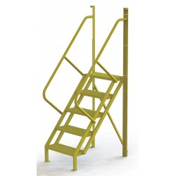 Tri Arc - UCL5005246 - Configurable Crossover Ladder, Steel, 50 Platform Height, Number of Steps 5