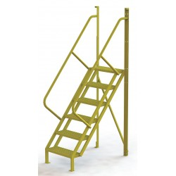 Tri Arc - UCL5006246 - Configurable Crossover Ladder, Steel, 60 Platform Height, Number of Steps 6