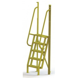Tri Arc - UCL7505246 - Configurable Crossover Ladder, Steel, 50 Platform Height, Number of Steps 5