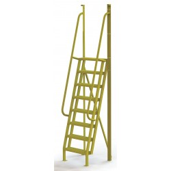 Tri Arc - UCL7508242 - Configurable Crossover Ladder, Steel, 80 Platform Height, Number of Steps 8