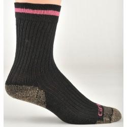 Carhartt - WA615 BLK M - Women's Crew Socks, Black, 1 PR