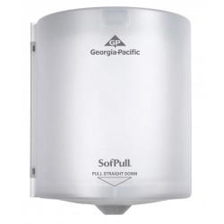 Georgia Pacific - 58237 - reg; Proprietary Centerpull Manual Paper Towel Dispenser, Translucent White