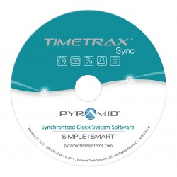 Pyramid Technologies - SASDLCWDXX - Pyramid TimeTrax Sync Software - Time Management - English - PC