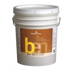 benjamin moore w6251x005hc153 interior paint flat 5 gal. Black Bedroom Furniture Sets. Home Design Ideas