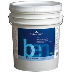 benjamin moore w6261x005hc27 interior paint eggshell 5 gal. Black Bedroom Furniture Sets. Home Design Ideas