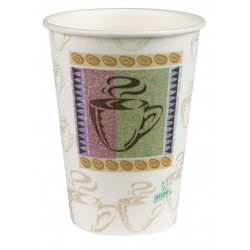 Georgia Pacific - 5342CD - Dixie PerfecTouch Hot Cup - 12 fl oz - 1000 / Carton - Hot Drink
