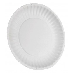 Dixie - 702622WNP6 - 6 Round Disposable Plate, White; PK1000
