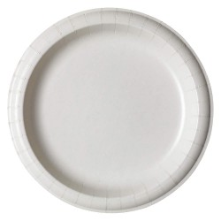 Dixie - SXP9W - 8-1/2 Round Disposable Plate, White; PK500