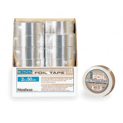 Nashua Tape - 617021 - Foil Tape with Liner, 2-1/2 In x 50 yd.