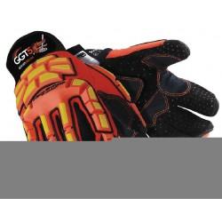 HexArmor - 4021X-XXL (11) - Cut Resistant Gloves, ANSI/ISEA Cut Level 5 Lining, Orange, Yellow, 2XL, PR 1