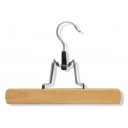 Honey-can-do - HNG-01221 - Wood Pant Hanger with Maple Finish; PK4
