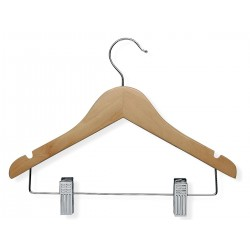 Honey-can-do - HNG-01225 - Wood Kids Hanger with Maple Finish; PK5
