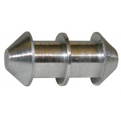 Eagle Belting - L04CON6S - Round Belt Connector, 1/4 Diameter