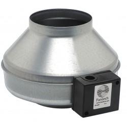 Fantech - FG 6M - Galvanized Steel Inline Fan, Fits Duct Dia. 6, Voltage 120V