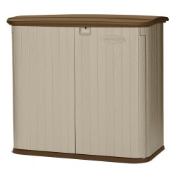 Suncast - BMS3200 - Horizontal Outdoor Shed, 4x4x2, Sand