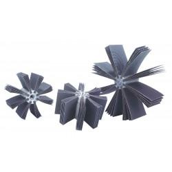 Merit Abrasives - 08834154173 - 80 Grit Bore Polisher, 8000 Max. RPM
