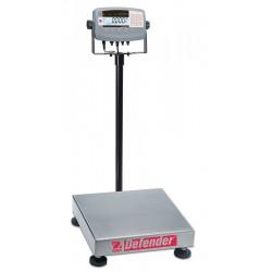 Ohaus - D71P50QL2 - Ohaus D71P50QL2 Defender 7000 Ind Scale, 50kg/100lb, 18 x 18 , 115V