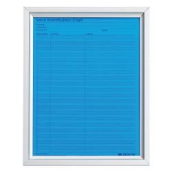 Brady - 23309 - Valve Chart Frame