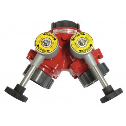 Elkhart Brass - B-98-A - Ball Valve, (2) 2-1/2 In FNST, 2-1/2 FNST