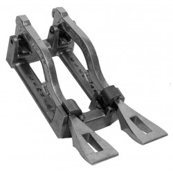 Elkhart Brass - 469 - Spanner Wrench Holder, (2) Spanner Wrenches, 7-3/8 Length