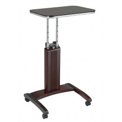 "Office Star Products - PSN623 - Office Star ProLine II Precision Laptop Stand - 36"" Height x 20"" Width x 17"" Depth - Veener, Wood - Mahogany"